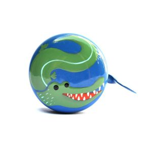 bike accessories for kids - beep bicycle bell crocodile