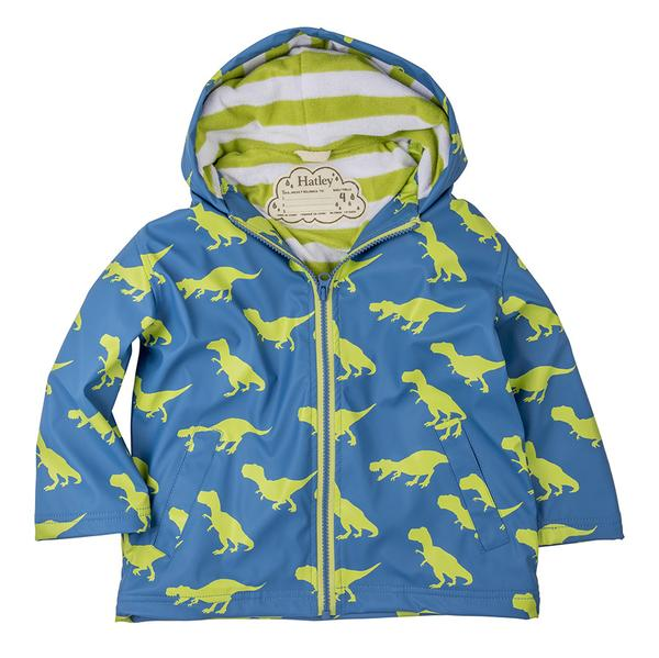 Baby and kids gift picks - Hatley dinosaur splash jacket