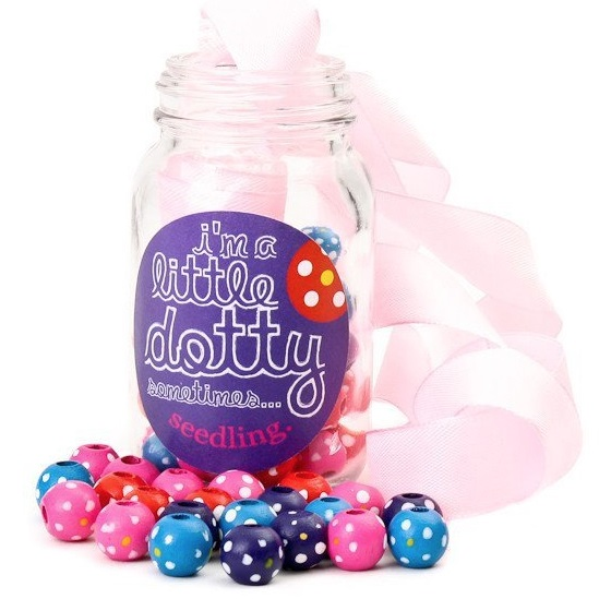 Baby and kids gift picks - Seedling dotty beads