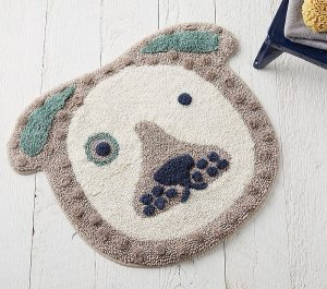 Bath time gifts for little ones - Eco Chic Puppy bathmat