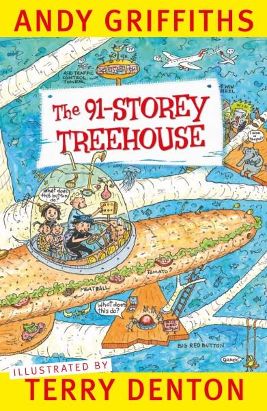 gift ideas for kids - 91 storey treehouse - preorder
