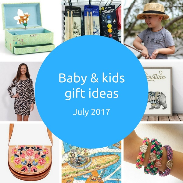 gift ideas for kids - Gift Grapevine - July 2017