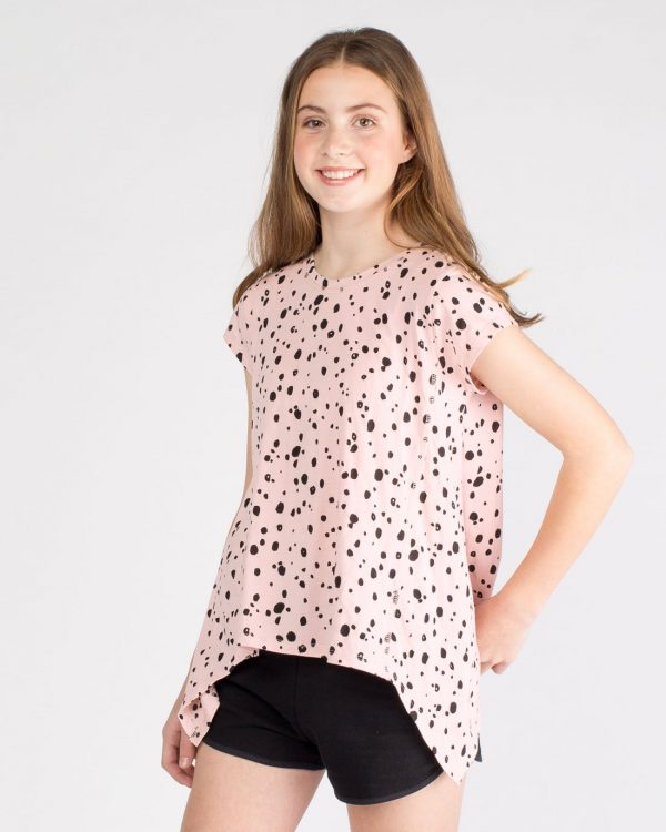 Cool Australian tween fashion labels - Girl With Swag Frida tee