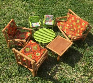 Toys my mum kept - Sindy outdoor furniture