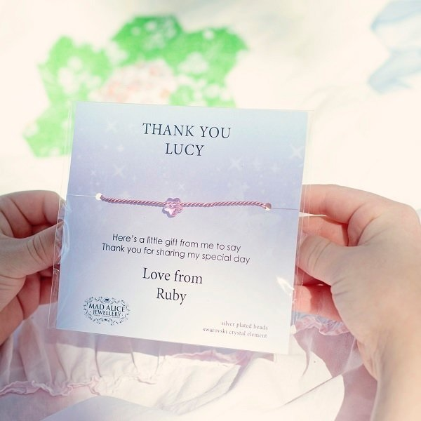 great new kids gift ideas - personalised party jewels