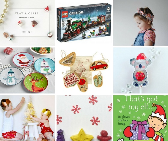 Christmas themed gifts for babies and kids