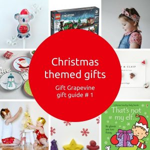Christmas themed gifts - Gift Grapevine gift guide 1