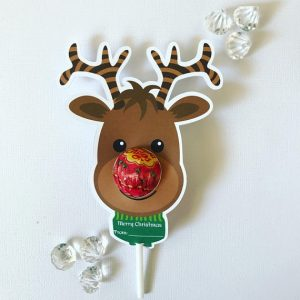 October gift finds - Reindeer lollipop holders