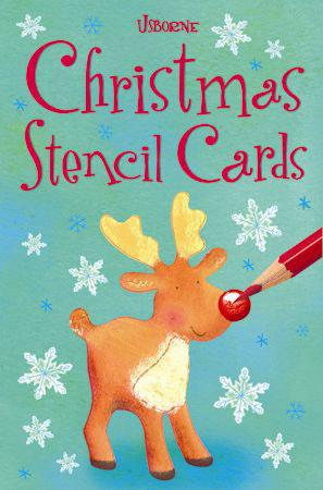 christmas themed gifts - Christmas stencil cards