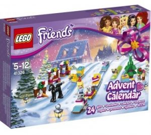 christmas themed gifts - LEGO Friends advent calendar