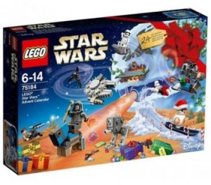 christmas themed gifts - LEGO Star Wars advent calendar