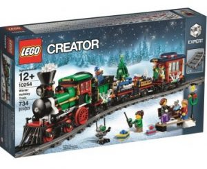 christmas themed gifts - LEGO creator train
