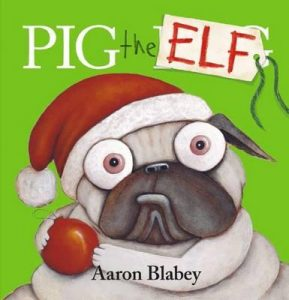christmas themed gifts - Pig the Elf
