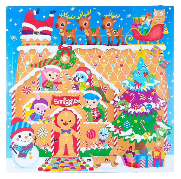 christmas themed gifts - Smiggle advent calendar
