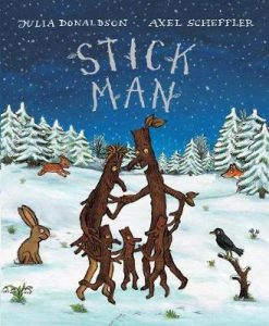 christmas themed gifts - Stick Man 10th Anniversary Board Book