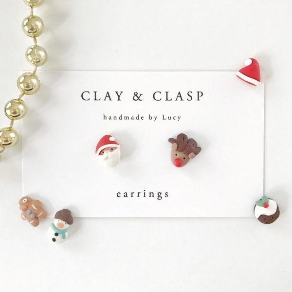 christmas themed gifts - christmas earrings