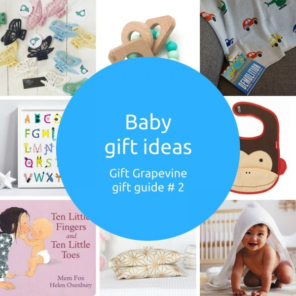 Baby gift ideas - Gift Grapevine gift guide 2