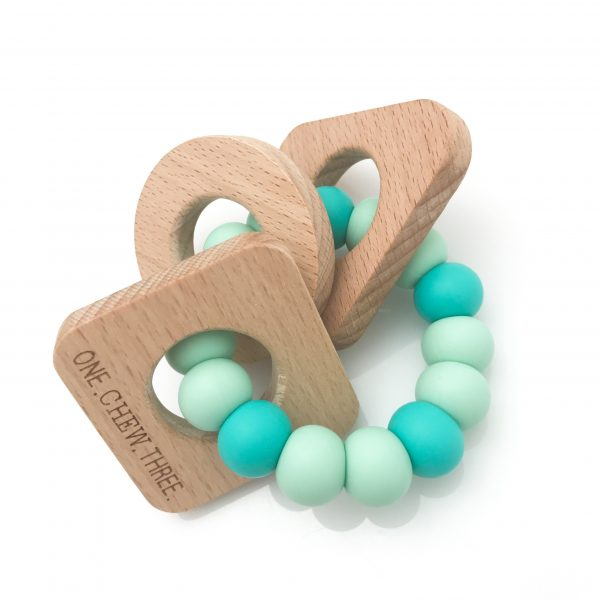 Baby gift ideas - one chew three teethers