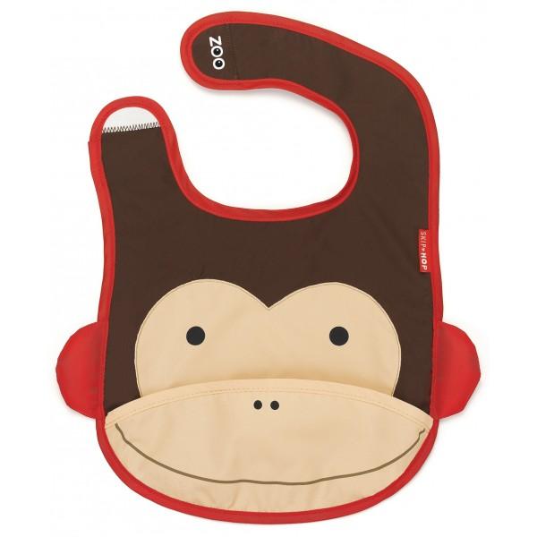 Baby gift ideas - skip hop monkey bib