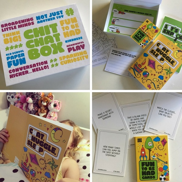 Four to six year old gift ideas - Chit Chat Box
