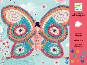 Four to six year old gift ideas - Djeco Butterfly Mosaics
