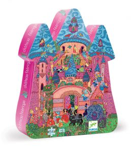 Four to six year old gift ideas - Djeco fairy castle puzzle