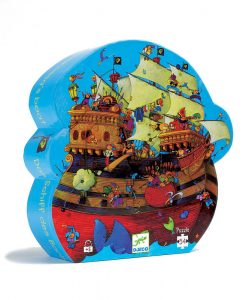 Four to six year old gift ideas - Djeco pirate boat puzzle