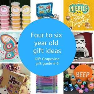 Four to six year old gift ideas - Gift Grapevine Gift Guide 2017