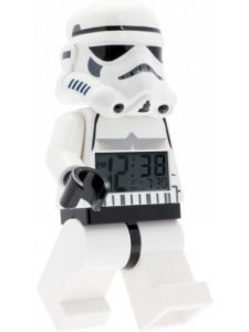 Four to six year old gift ideas - Lego Stormtrooper Minifigure Clock