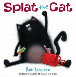 Four to six year old gift ideas - Splat The Cat