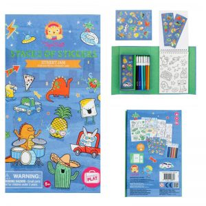 Four to six year old gift ideas - Tiger Tribe stacks of stickers