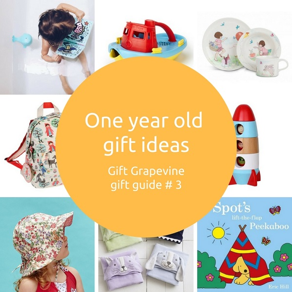 One Year Old Gift Ideas