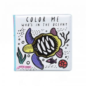 One year old gift ideas - colour me bath book