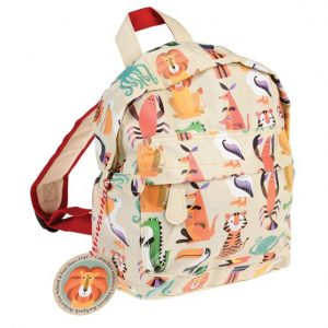 One year old gift ideas - creatures backpack