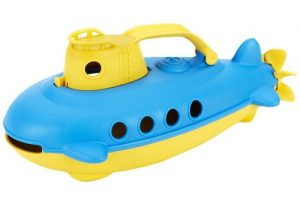 One year old gift ideas - green toys submarine