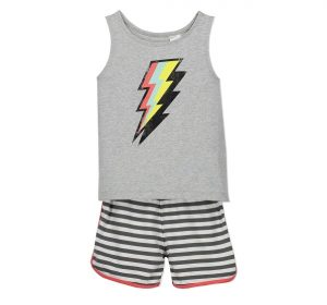 One year old gift ideas - lightning bolt pyjamas