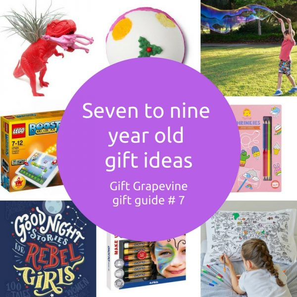 Seven to nine year old gift ideas - Gift Grapevine gift guide 7