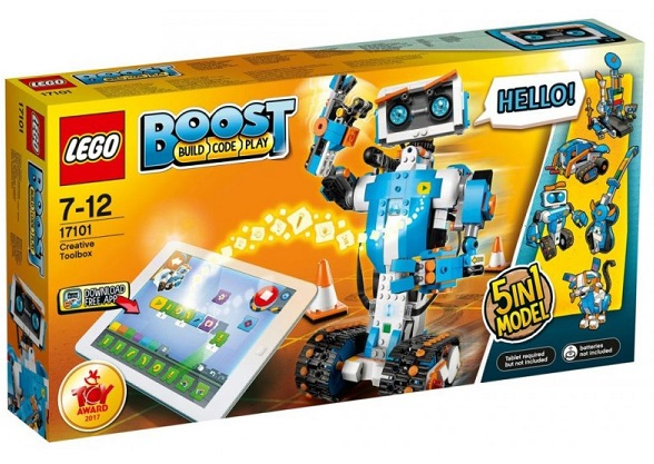 Seven to nine year old gift ideas - LEGO BOOST