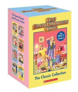 Seven to nine year old gift ideas - babysitters club classic collection