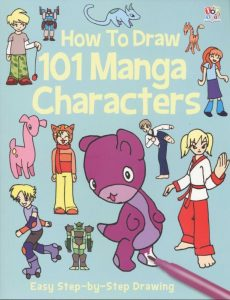Seven to nine year old gift ideas - how to draw 101 manga characters