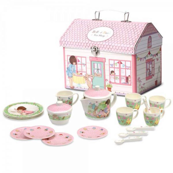 Three year old gift ideas - Belle and Boo house box tea set