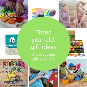 Three year old gift ideas - Gift Grapevine gift guide 5