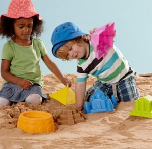 Three year old gift ideas - Hape Sand Moulds