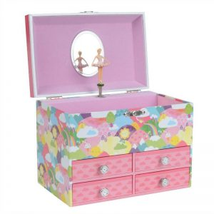 Three year old gift ideas - Tiger Tribe musical jewellery box