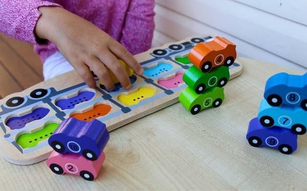 Three year old gift ideas - car wooden puzzle