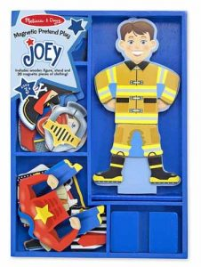 Three year old gift ideas - magnetic dress up joey