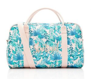 Tween gift ideas - Pretty Palm Duffle Bag