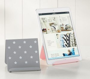 Tween gift ideas - heart and star tablet stand example