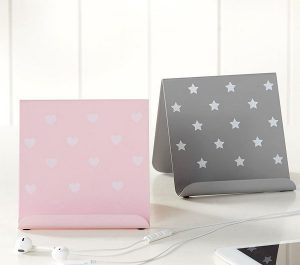 Tween gift ideas - heart and star tablet stands