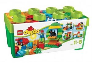 Two year old gift ideas - LEGO Duplo all in one box of fun